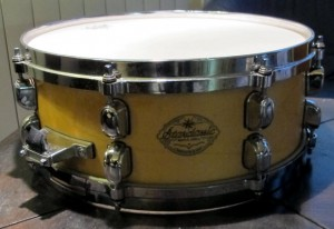 tama starclassic maple snare drum